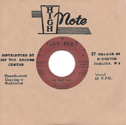 Conquerors - Oh That Day / Here I Stand (Gay Feet / Dub Store Records) 7""